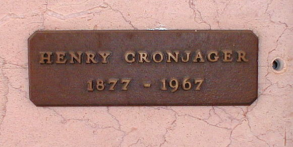 Henry Cronjager