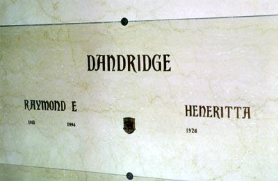 Ray Emmett Dandridge, Sr