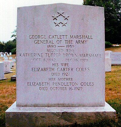 George Catlett Marshall, Jr