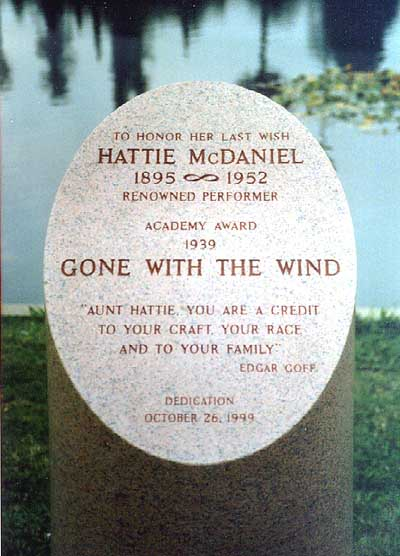 Hattie McDaniel (1895-1952) - Find A Grave Memorial