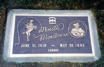 Montie Montana 1910 1998 Find A Grave Memorial