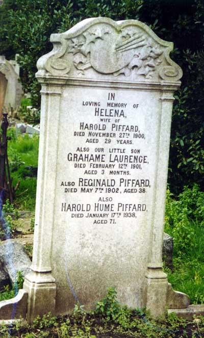Harold Hume Piffard