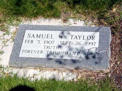 Samuel Woolley Taylor