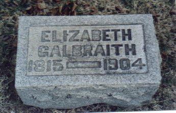 Elizabeth <i>McCualsky</i> Galbraith