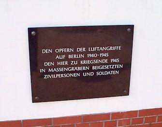 Berlin Bombing Victims Memorial