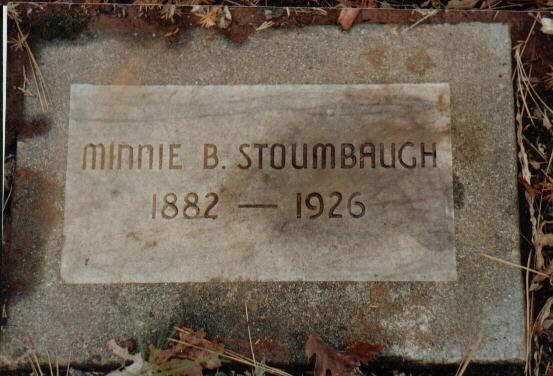 Minnie Belle <i>Rusow</i> Stoumbaugh