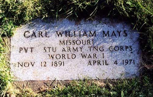 Carl William Mays