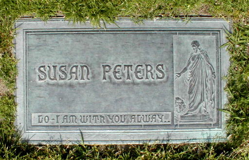 Susan Peters (1921-1952) - Find A Grave Memorial