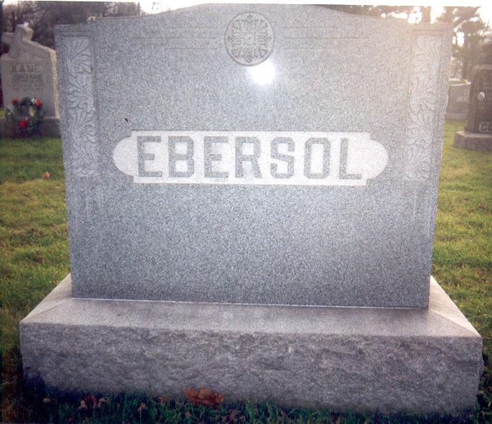 Mary L. <i>McManimen</i> Ebersol