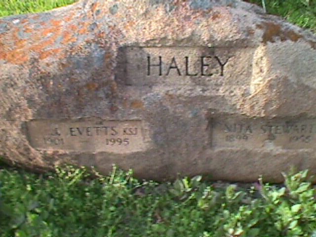 James Evetts Haley, Sr