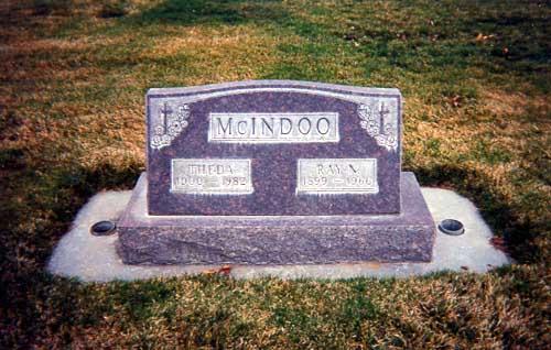 Theda Minona <i>Aubushon</i> McIndoo
