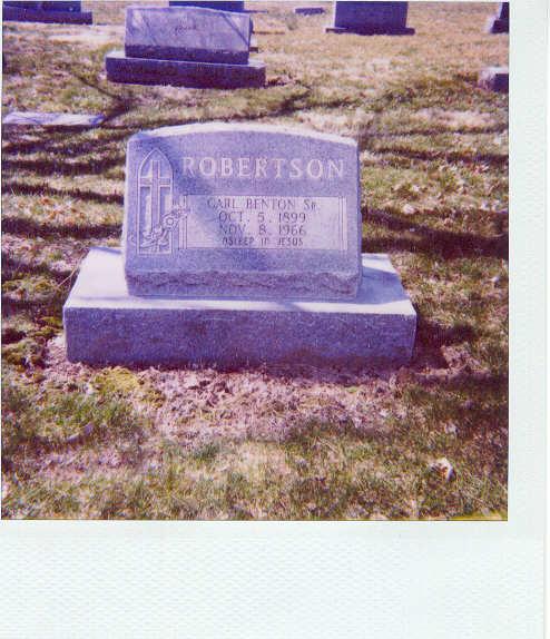 Carl Benton Robertson
