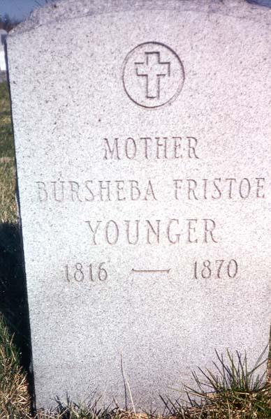 Bursheba Sullivan <i>Fristoe</i> Younger
