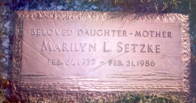 Marilyn L. <i>York</i> Setzke