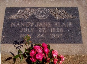 Nancy Jane <i>Hudson</i> Blair