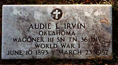 Audie Lee Irvin