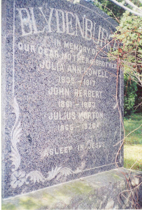 Julia Ann <i>Howell</i> Blydenburgh