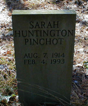 Sarah Huntington <i>Richards</i> Pinchot
