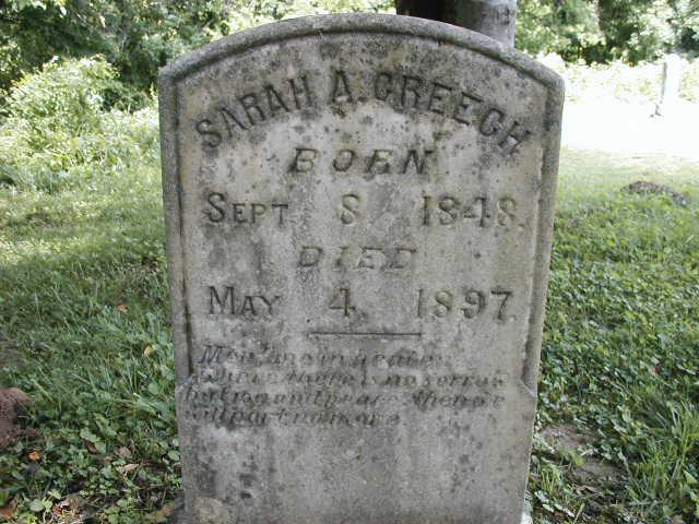 Sarah A. Creech