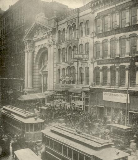Image result for fire in chicago theatre in 1903