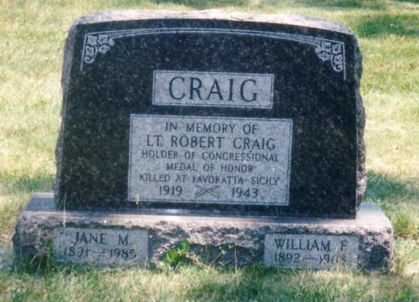 Lieut Robert Craig