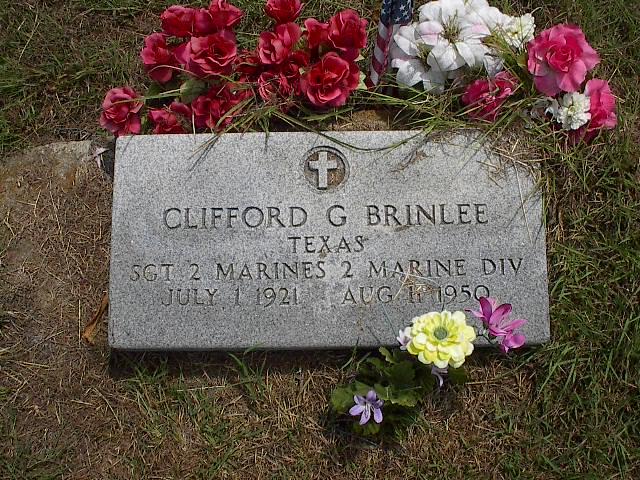 Sgt Clifford G. Sonny Brinlee