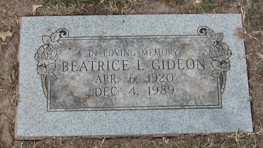 Beatrice L. Gideon