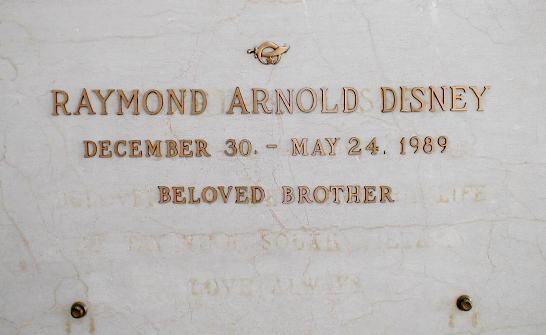 Raymond Arnold Disney
