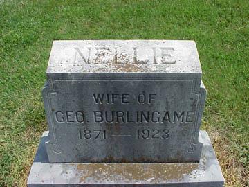 Nellie <i>Miller</i> Burlingame