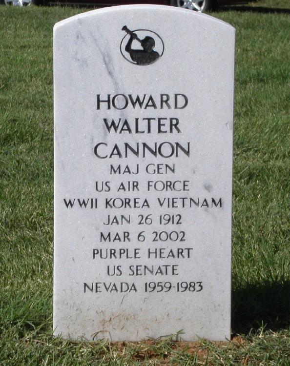Howard Walter Cannon