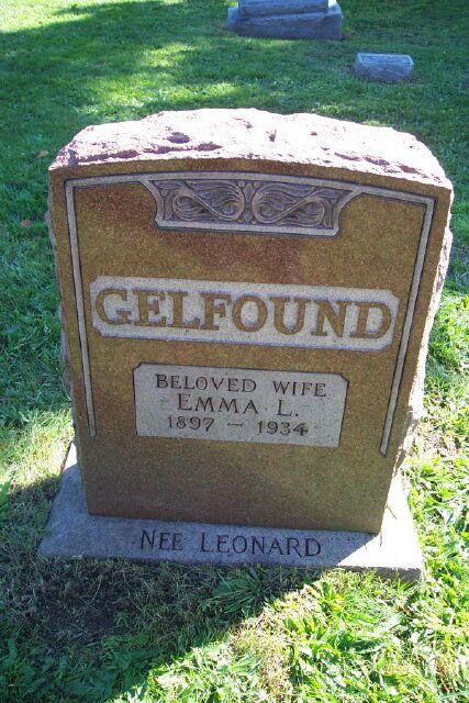 Emma <i>Leonard</i> Gelfound