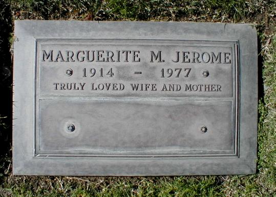 Marguerite Mari <i>Waterbury</i> Jerome