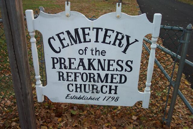 Preakness Reformed Church Cemetery