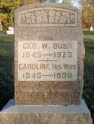 George W Bush 1845 1923 Find A Grave Memorial