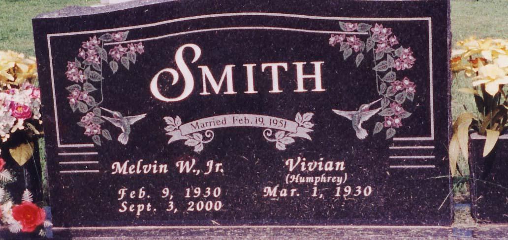 Melvin W Smith, Jr