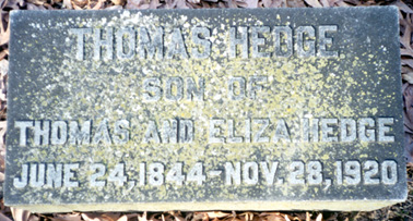 Thomas Hedge