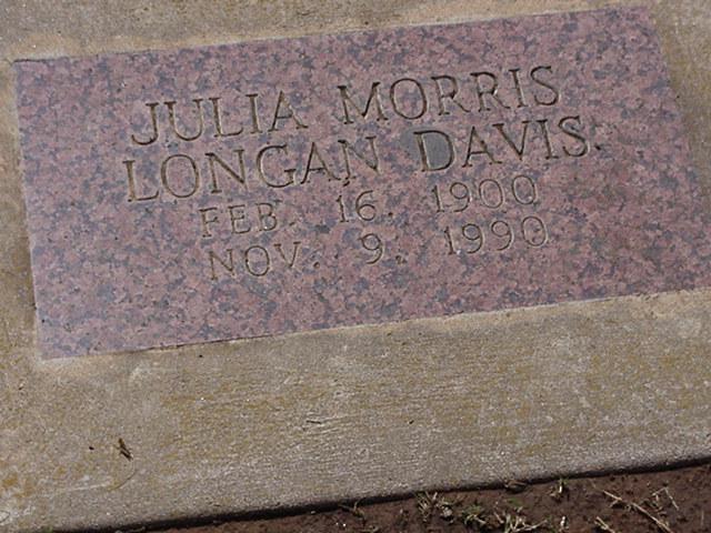 Julia Edna <i>Morris</i> Davis