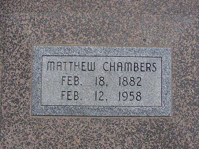 Matthew Chambers