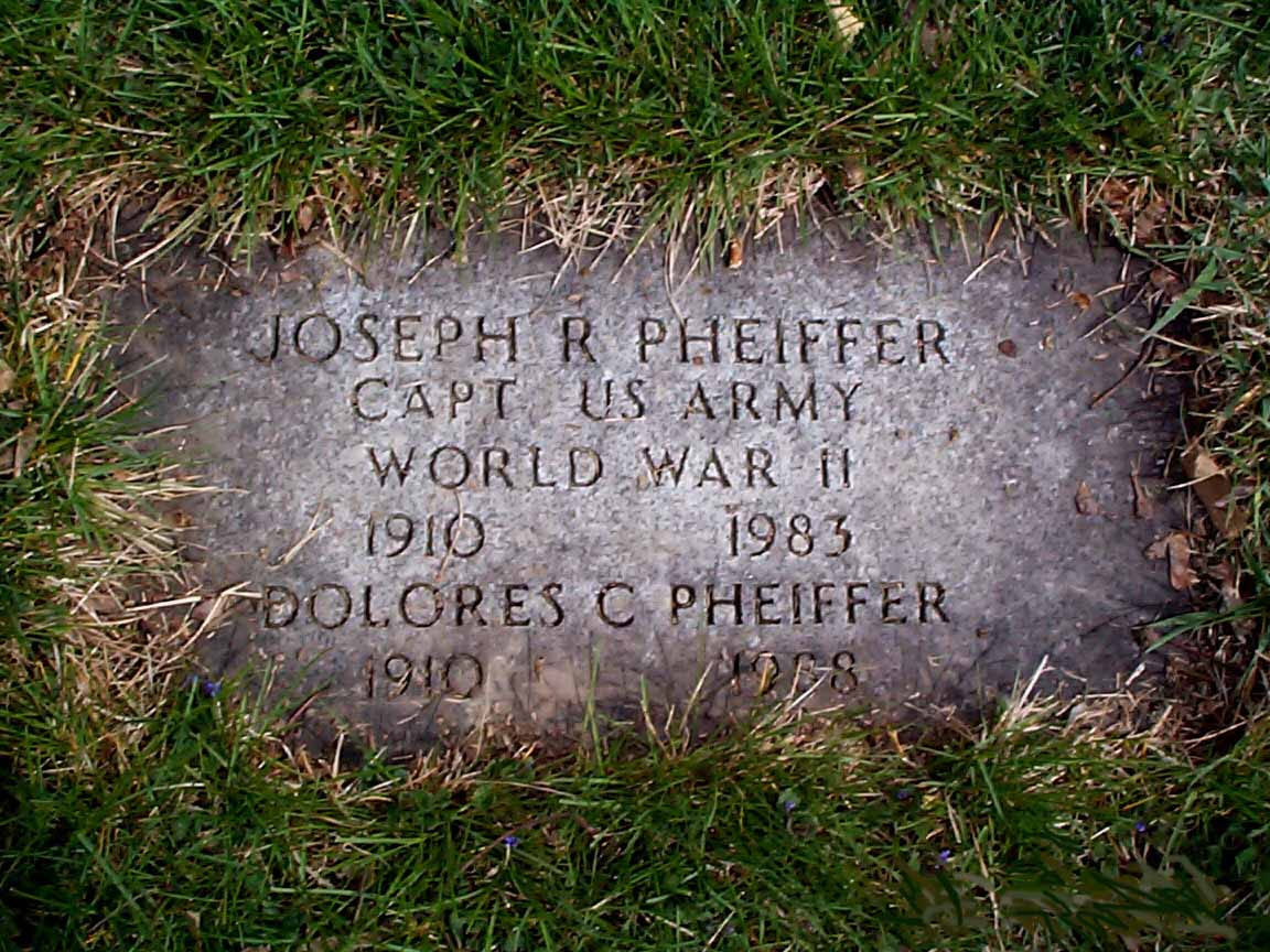 CPT Joseph Richard Pheiffer