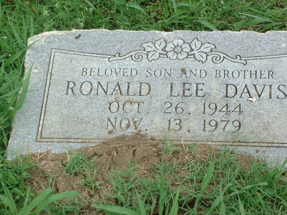 Ronald Lee Davis