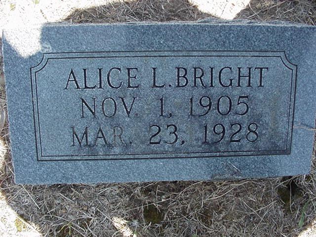 Alice L. Bright