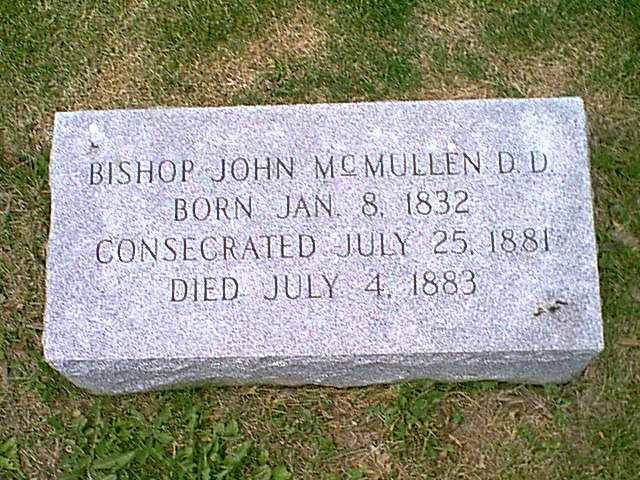Bishop John McMullen