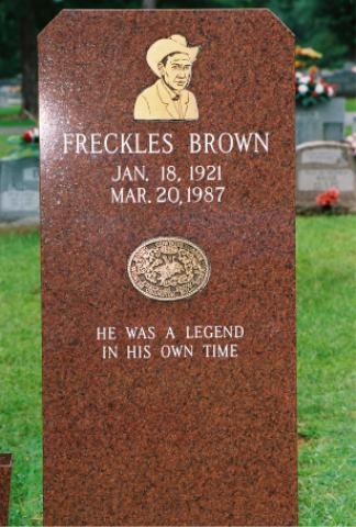 Warren G. Freckles Brown
