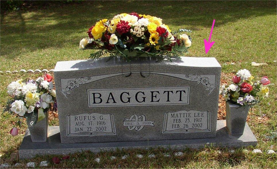 Mattie Lee <i>Bradford</i> Baggett