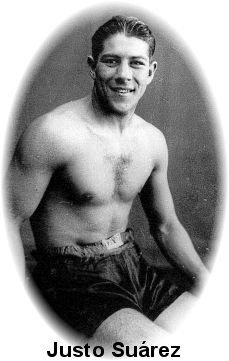 Resultado de imagen para justo suarez boxeador