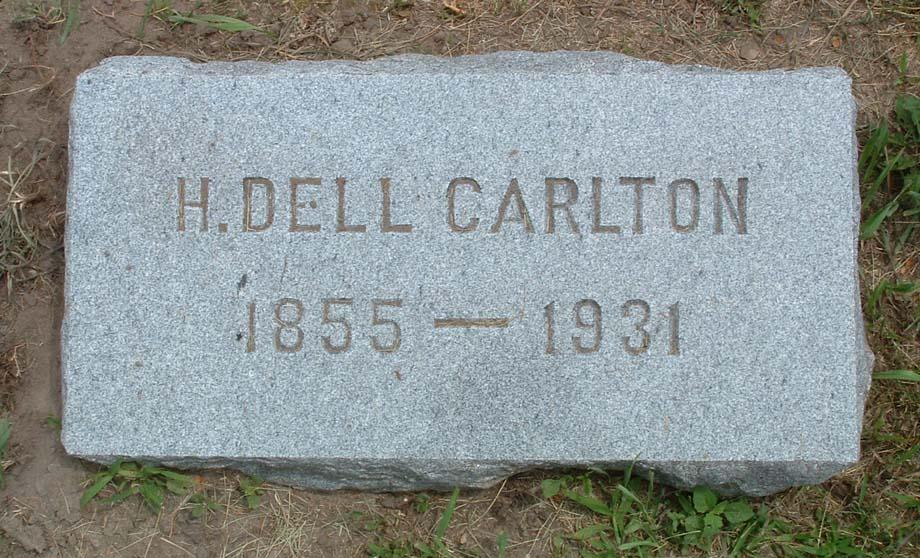 Hannah Delcenia Dell <i>Outcalt</i> Carlton