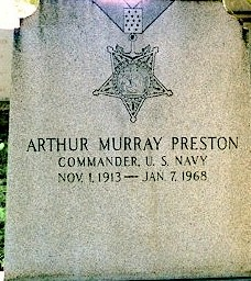 CDR Arthur Murray Preston