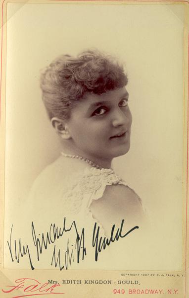 Edith Mary <i>Kingdon</i> Gould