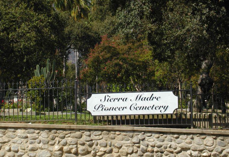 Sierra Madre Pioneer Cemetery