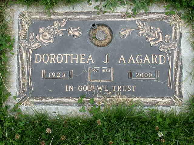 Dorothea J Aagard
